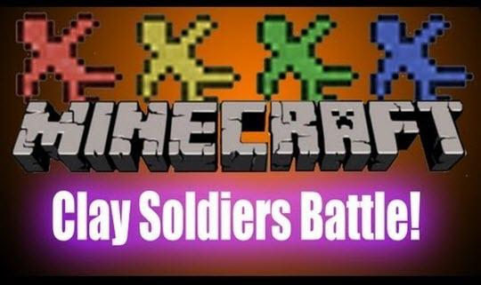 Clay Soldiers Mod minecraft 1.3.2