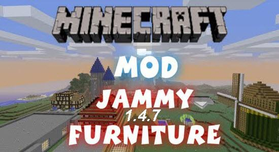 Jammy Furniture Mod 1.4.7