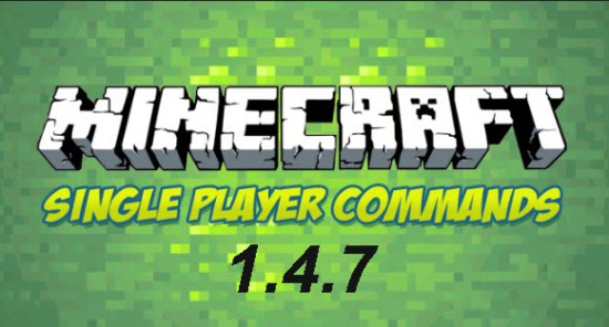 Single Player Commands 1.4.7