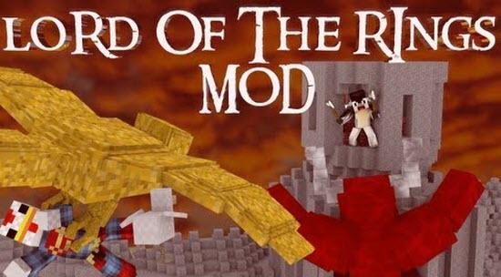 The Lord of the Rings для Minecraft 1.6.4