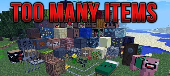 TooManyItems 1.4.7