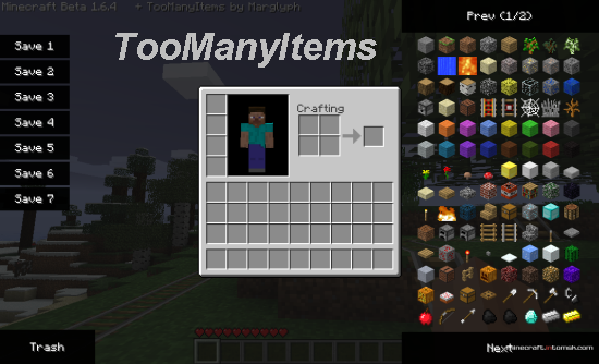 TooManyItems