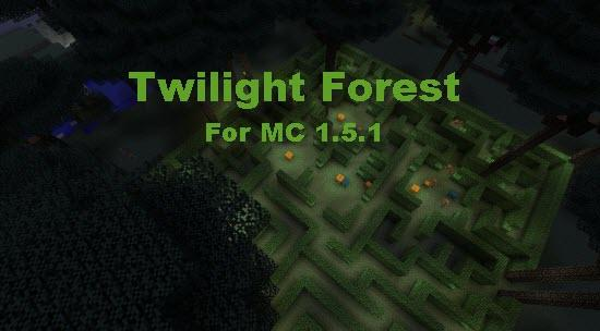 Twilight Forest 1.5.2/1.5.1